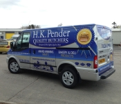 HK Penders Butchers Van